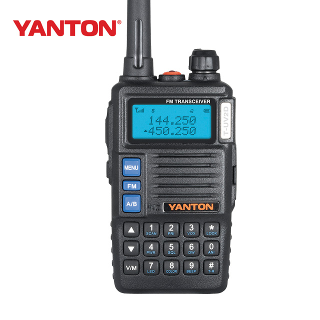 all band mini walkie talkie full duplex uhf vhf (YANTON T-UV2D)