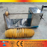 twister tornado spiral potato cutter , super quality, henan tops