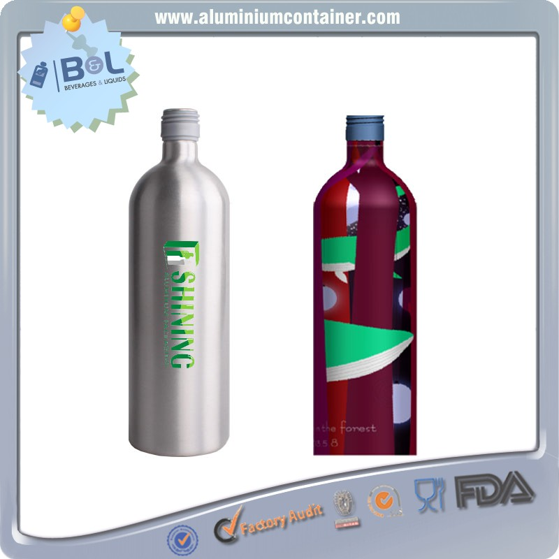 Boost Nutritional Drink Aluminum Bottle