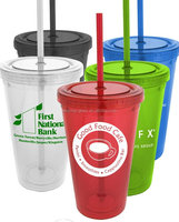 double wall acrylic tumbler straw wholesale