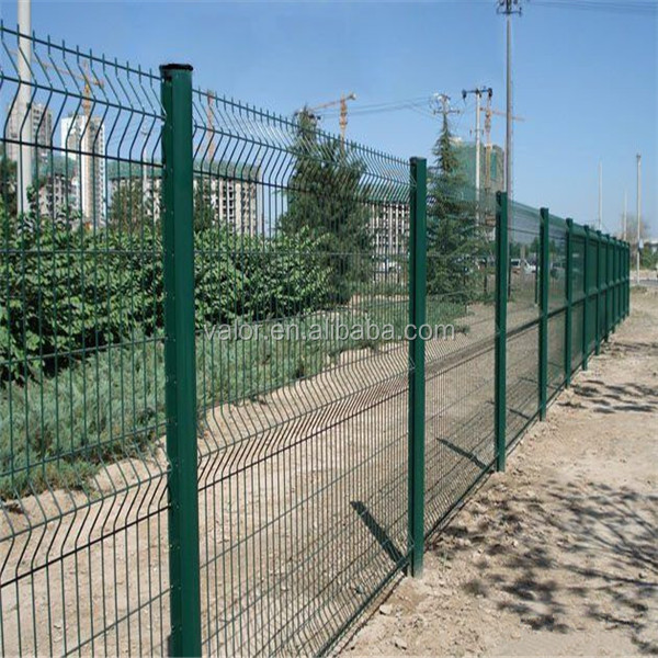 welded wire mesh wrought iron fence parts