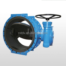 cast iron gasket on off big size 1200mm butterfly valve