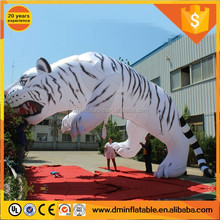 2017 outdoor decoration giant inflatable tiger for advertising