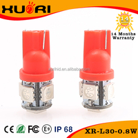 Hot Selling led width lamp t10, universal used car bulb led lighting, smd 5050 led car bulb t10