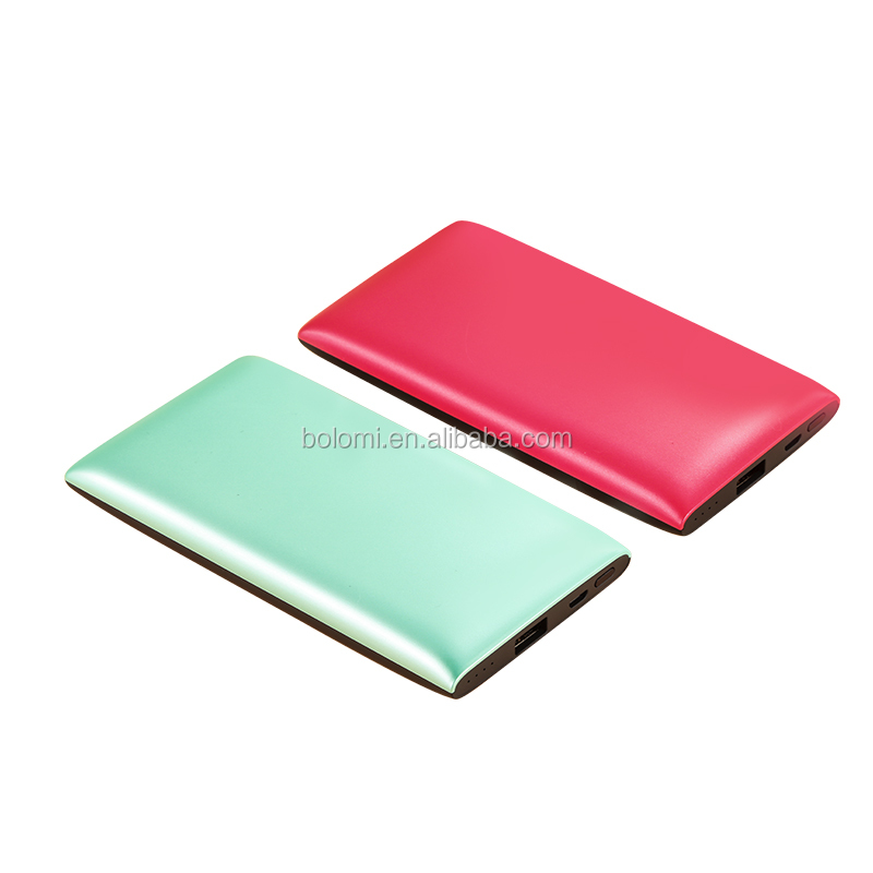 Newest charger case with built-in magnet Ultra Thin ABS shell charge case External Battery power bank