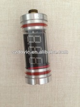 Best quality Electronic cigarette low and high voltage indicator