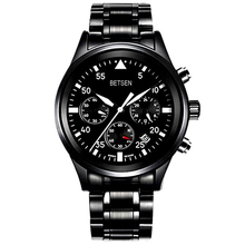 Betsen Promotion Gift Watch in High Quality with alloy case and pu leather strap and with customized logo