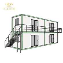 Luxury Light Steel Framing Modular Prefab Villa Building/ Prefabricated Structure House
