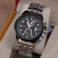 Stainless Steel Japan Movement CURREN Brand Watches for Men