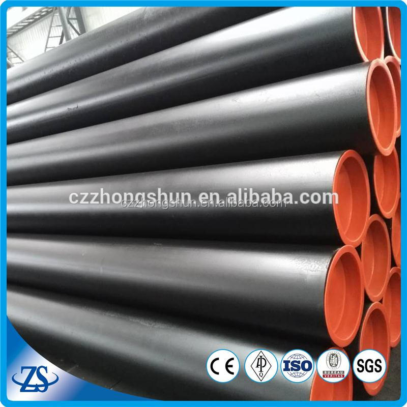 "nps 20"""" sch80 usa carbon seamless steel pipe with color coated tubes"