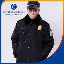 Women and men prison officer or guar outdooe coat style uniform for safety job