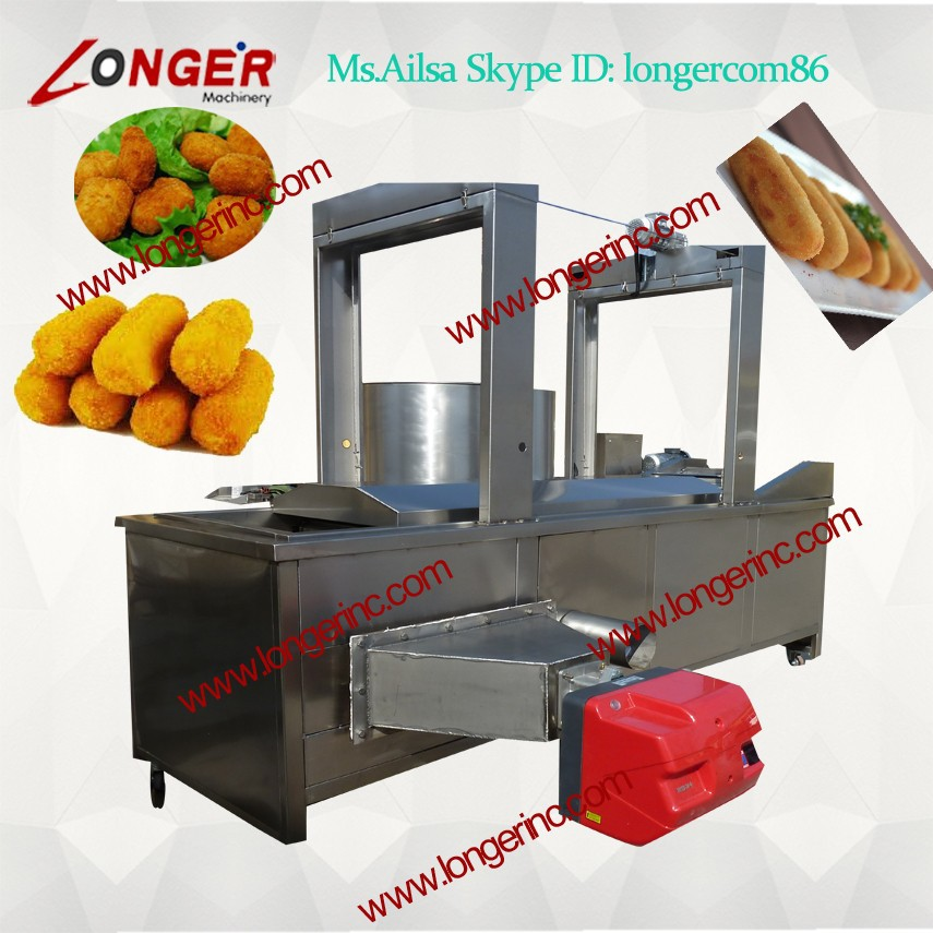 Electric/Gas French Fries Frying Machine for Fast Food Restaurant