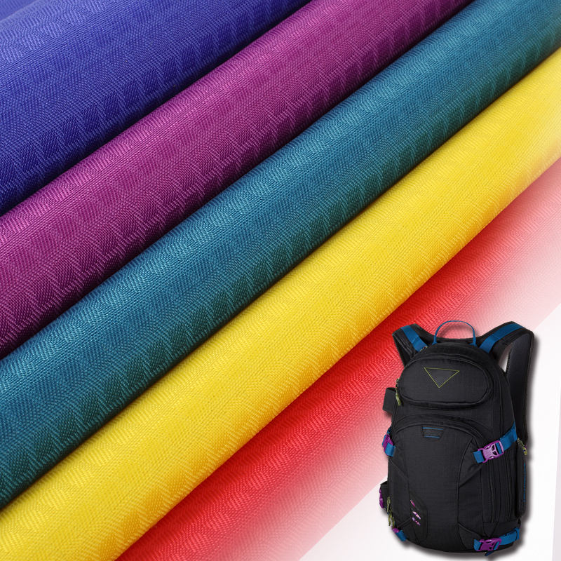 Eco-friendly uncoated ripstop nylon fabric with virous colors in stock