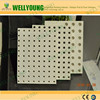 Environmental protection material perforated acoustic knauf gypsum board