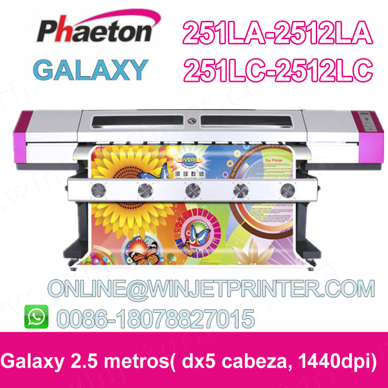 dx5/2.5M galaxy 251LC 2512lc print head galaxy for 2.5m with dx5 251LC/2512LCgalaxy print plotter