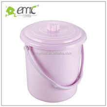 Good quality Handle Water Plastic bucket with lid