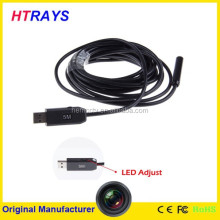 5M-7mm Mini endoscope industrial pipeline 6LED portable endoscope led light source