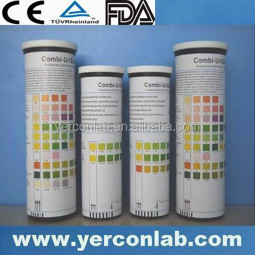 Bayer urine test strips rapid test 12 para TUV ISO FDA