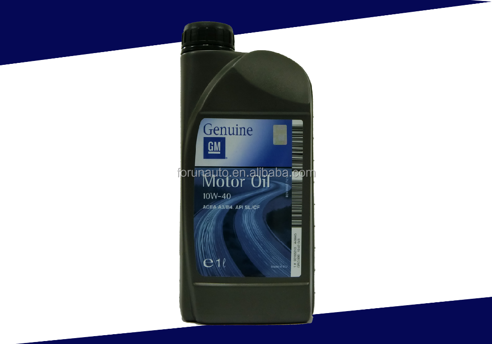 European imported GM genuine Synthetic motor oil 10w40