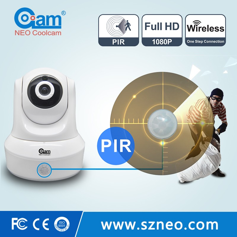 HD 1080P pan tilt wifi 2p2 wireless 2mp ip camera