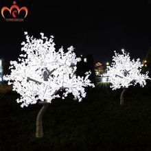 Led Light Party Decoration Maple Leaf Christmas Tree With Led Lights