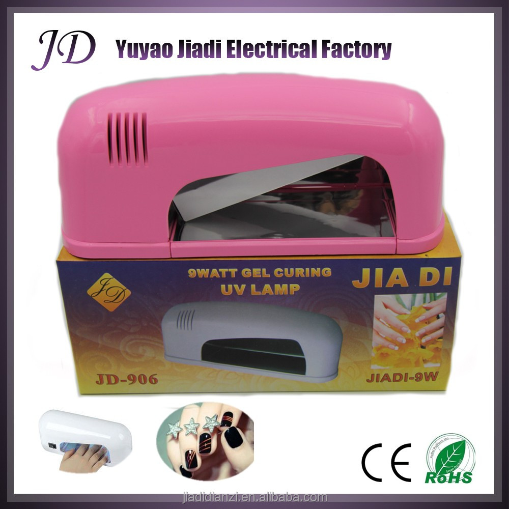 9W curing nail lamp light uv drying machine