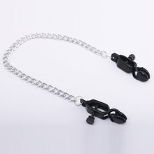 1 Pair 35cm Chains Metal Nipple Clamps Sex Toys Nipples Clips Adult Games For Couples Flirt Toys Nipple Clips For Women Gay