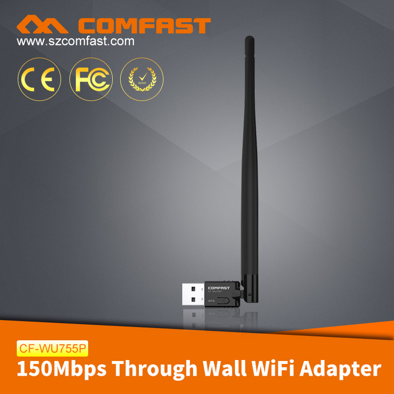 COMFAST CF-WU755P High Power 150mbps USB Wireless Adapter for Windows 8