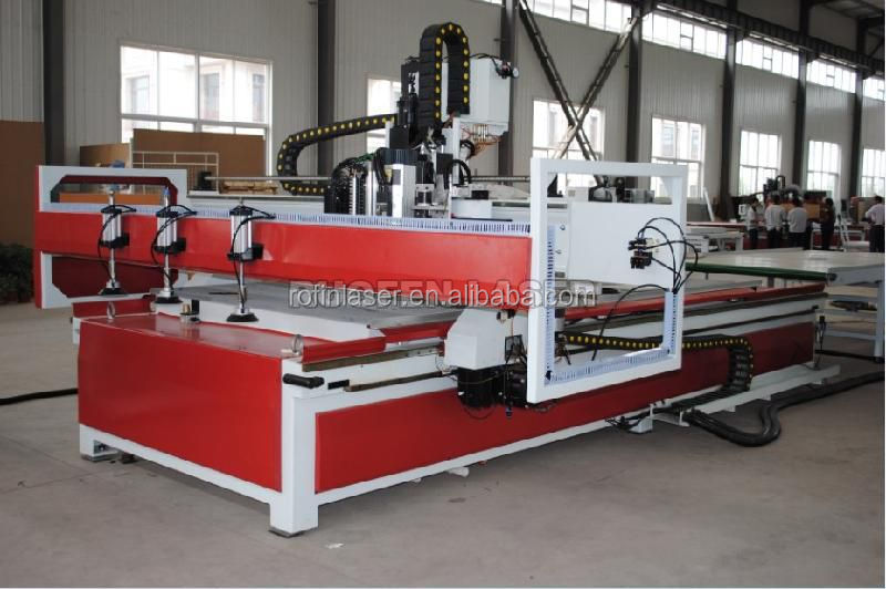 auto feeding atc cnc router for kitchen cabinet