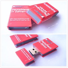 customize 3D pvc promotional book dictionary usb flash drive 4GB 8GB