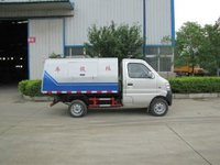 Changan small dump garbage truck for sale
