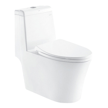 Foshan New Model Siphon Flush Washroom Wc Ready Made Custom Toilets Chinese One Piece Bathroom Toilet Ceramic Wc Toilet