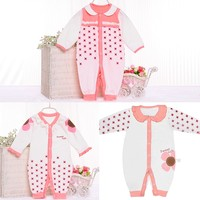 Factory Price 100% Cotton Custom Print baby romper blank