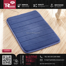 hot sale anti-slip memory foam bath mat and non-slip rug pad