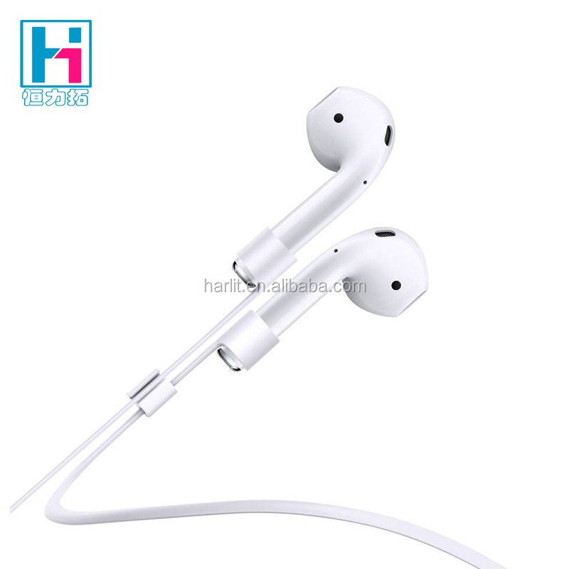Anti Lost Silicon String Strap For Apple Airpods Anti Lost Strap Wire Cable Connector for Apple Airpods