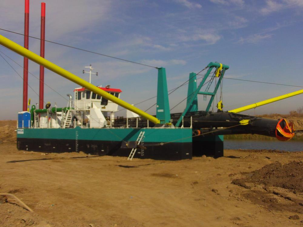 cutter suction sand pump dredger /dredge/ship/boat/vessel/machine/equipment