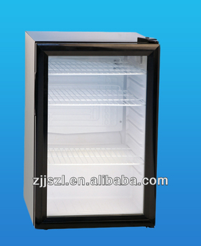 Mini cooler, mini bar showcase, mini fridge SC-70 (70L)