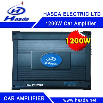 1200W Car Electronic Amplifier, 4ch Electronic Amplifier for Car