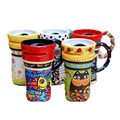 Wholesale handmade design ceramic coffee cup