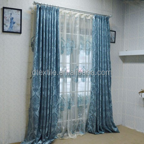 100% polyester finished curtain ,finished drape, Curtain design