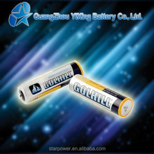 R6 Size aa 1.5v parts dry cell battery