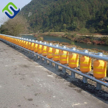 Road Roller Detachable highway safety guardrail