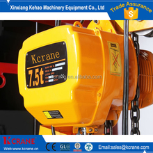 6 ton hoist truck mobile crane / chain hoist/battery powered chain hoist in kenya