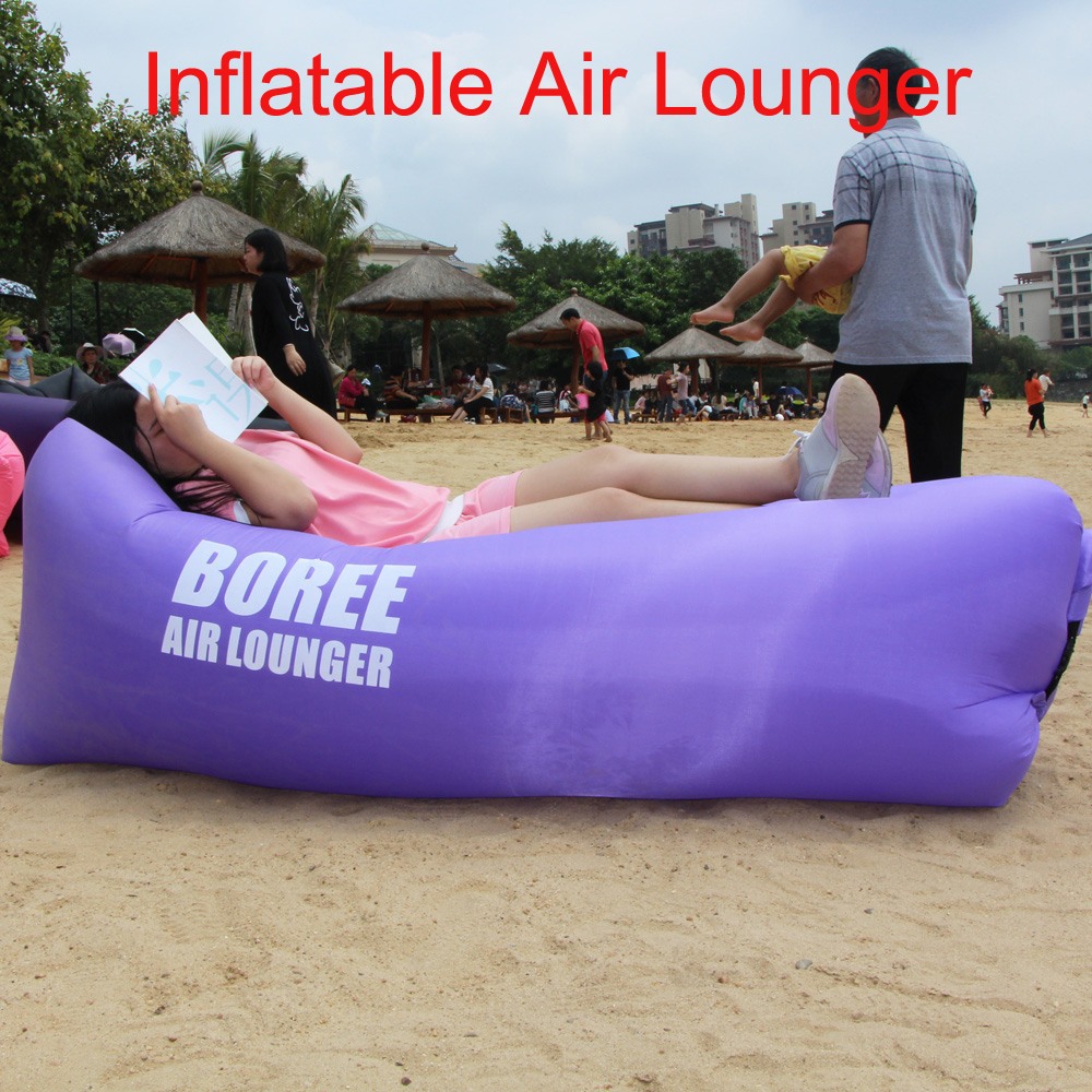 New Product Outdoor Lay Bag Inflatable Air Sofa, Hottest Beach Lay Bag Inflatable Air Sofa/Lazy Bed
