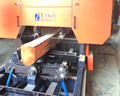 Timber cutting saw machine