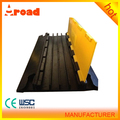 CE 900*500*60mm 4 channels rubber cable protector/Rubber mat
