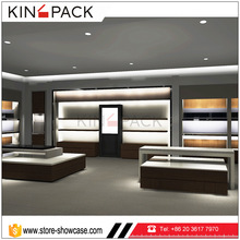 KINGPACK furniture factory direct sale man shoe store interior decoration for shoe shop