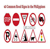 cheap Aluminum Reflective Custom Warning Road Safety Traffic Sign