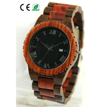 OEM Personalized Best Selling Gifts Engraved Vintage Wooden Watch