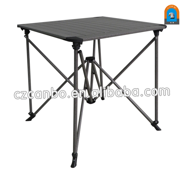 CB-AT009 New Design Outdoor Lightweight Aluminum <strong>Folding</strong> Table with storage bag